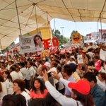 Extraordinario recibimiento de la militancia priista, este sábado en el cierre de campaña de @SoyBlancaAlcala https://t.co/wj3QzExY4s