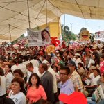 Nuestro Presidente del @PRI_Nacional, nuestro amigo @MFBeltrones en el cierre de campaña de @SoyBlancaAlcala https://t.co/rpK1mhPZde