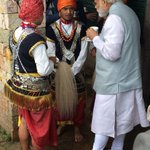 A picture from the Prime Ministers visit to Mawphlang village in Meghalaya yesterday. https://t.co/aYYWTl2bsK