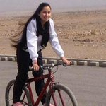 Today is biggest world cycling match & Zhala Sarmast is representing #Afghanistan in @LeTour. Big day for her & AFG https://t.co/uOmAbphYYn