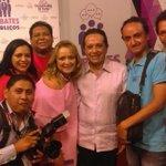 La Sala de Prensa de Carlos Joaquín en la celebración post debate; somos los mejores #CarlosJoaquinGobernador https://t.co/C5B0CFIlzX