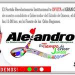 Todos apoyando para el evento de nuestro candidato @alejandromurat #ConLaMismaFuerza en la #RectaFinal @MFBeltrones https://t.co/3ZTbLZIRlS