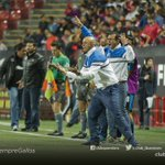 El festejo tras el empate. #SiempreGallos https://t.co/gSCnEImiRm