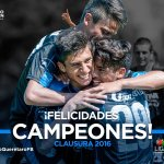 Felicidades Campeones!! @ClubQueretaroFB Gallos Sub20  #SomosCampeones 🐔🏆🐔 https://t.co/GdioDJ1s70