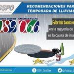 Buenos días #Oaxaca, evita tirar basura en la calle, en la mayoría de casos es la causa de inundaciones @SSP_GobOax https://t.co/QsM1hNW7Gk