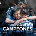 Y despertamos con la noticia de que los Sub 20 de Gallos son los nuevos campeones del Clausura 2016 @fanaticosportv https://t.co/jL7LkkXCri