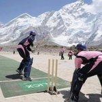 Plying Cricket in the Mount Everest Beautiful Nepal  #VisitNepal https://t.co/jin2guTjtt