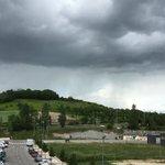 #CumulonimbosArcus que llega del oeste de #Pamplona y se va a estrellar justo aquí, al norte de #Pamplona. Vemos... https://t.co/I2aob9sXrt