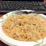 @ABC13Elita made a #Filipino dish called #Pancit & its delicious! This is the second fili dish I try! @abc13houston https://t.co/G7WT4082Fh