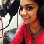 .@KeerthyOfficial completed her dubbing for #Thodari https://t.co/9WukVy248c