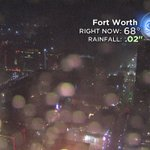 Lots of lightning, seeing some small hail on our FTW Skycam as storm is moving over downtown now #CBS11Wx https://t.co/ZdnY7SL5Pf