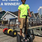 RT @SegwayNS: Congrats Allison for winning our first contest ! More contests coming. #h #Halifax #SegwayTourContest https://t.co/LIBgpXYxwq