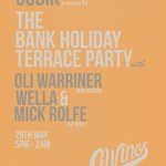 Sort your #BankHoliday Sunday #Newcastle! Get in for our CUBIK curated Terrace Extravaganza! Itll be tasty https://t.co/X9hDkg4HyI