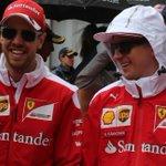 ONE HOUR TO GO Even Kimis smiling...???? #MonacoGP #F1 https://t.co/zhXzlNWqU0