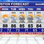 Good morning! Heres your forecast from #ABC13. #Houston #TXwx https://t.co/SGqbSGis9S