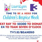 €113,000 raised by YOU for @LauraLynnHouse - and still rising. Wow. Delighted. https://t.co/WIsypvVeV6