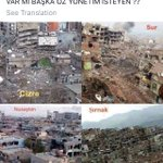 Turkish police page asks which other Kurdish towns would like to have autonomy, showing photos of destruction. https://t.co/FRP6VRwJsH