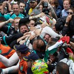 I love my team, thank you ???????? #MonacoGP @MercedesAMGF1 photo by Steve Etherington https://t.co/xn9Wr7Nges
