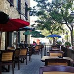 Inside or out, join us for dinner this evening and enjoy the best of European cuisine. #ldnont https://t.co/nXyUhSvI8h