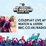 TONIGHT! Coldplay headline @BBCR1s #BigWeekend in Chriss hometown of Exeter. Watch (UK) or listen (worldwide). A https://t.co/tgnRNtqyE3