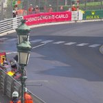 """LAP 35/78: ???? """"Agghhhh, Ive crashed"""" Verstappen OUT after crashing at Casino Square #MonacoGP #F1 https://t.co/4PcozktMGb"""