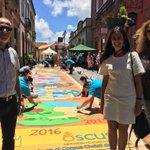 Bonitas alfombras casco histórico Arucas ,enhorabuena d @popularesgc disfrutando d magnífico trabajo #CorpusChristi https://t.co/WGSGOzDWEy