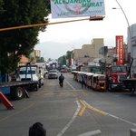 #ReporteVial precaución avenida Porfirio Díaz cerrada por evento de cierre de campaña #Oaxaca #TwitterOax https://t.co/KLHI13jOs0