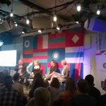 Lavaklubilla tupa täynnä @eetti_ry:n keskustelussa ruuantuotannosta. #mk2016 #maailmakylässä. https://t.co/EEJvPchriU