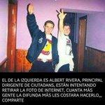 """Es el malandrin fascista @Albert_Rivera q estuvo recientemente en Venezuela para hablarnos d """"democracia"""" . Cínico! https://t.co/bQc5CVZrK5"""