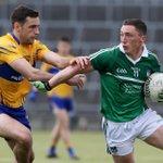 Munster SFC half-time: Limerick 0-04 Clare 0-05 https://t.co/E477KFgy4E