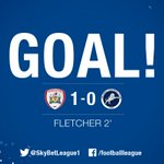 Well, that didn't take long! Ashley Fletcher fires @bfc_official into the lead inside two minutes. #PlayOffFinal https://t.co/Yshj77jw4s