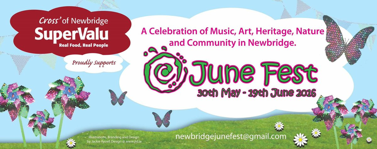 We are nearly there! Newbridge June Fest is getting close to kick off! And we are very excited!!! https://t.co/cYRcc5Z1XV