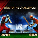 Chasers vs Defenders! #SRH have thrown the gauntlet, lets win it & bring the trophy home! #RCBvSRH #PlayBold https://t.co/qRQrqTCjjK