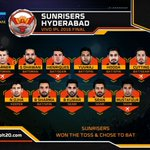 .@SunRisers Playing XI #RCBvSRH #VIVOIPL. Follow the game here - https://t.co/izfCfkwSuy https://t.co/RUyGswNgP1