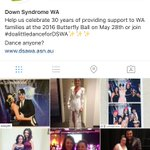 WOW! What a night!! See photos from the night on Instagram #DSWA #butterflyball #downsyndrome #30yearsofDSWA #Perth https://t.co/jqVHyHlVjm