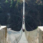 #VisitNepal  Kushma Gyadi Suspension Bridge, Parbat, #Nepal. ( BTW its my home town ) https://t.co/VKydFDEAZR