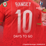 10 DAYS TO GO! ????????⚽️ #TogetherStronger #EURO2016 https://t.co/7OKW739kfW