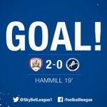 My word! What a screamer from Adam Hammill! @bfc_official in dreamland at Wembley. 2-0. #PlayOffFinal https://t.co/D5QOZXmbuH