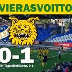 KYLLLLÄ!! Vieraspisteet Tampereelle! Voittoputkessa! #Ilves #Veikkausliiga https://t.co/bFYt5kDBn2