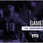 It's #ChampionshipSunday! TCU will play for its second Big 12 tournament title today at 1 on @FS1. #GoFrogs https://t.co/Y3qx0cMc5T