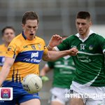 FT in the @MunsterGAA Championship: Limerick 0-13 Clare 0-16. Massive win for The Banner! ???? #TheToughest https://t.co/7zJU6XTS0i