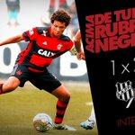 47 | 1º T - Fim de primeiro tempo! Ponte Preta 1x2 Flamengo. #PONxFLA https://t.co/dj85lrsAnd