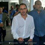 Llegó el profesor Alfredo Arias al país, para asumir la Dirección Técnica del Club Sport Emelec. https://t.co/ZnlIhkID5G