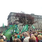 Wow - what a welcome home @connachtrugby @MeyrickHotel #Pro12Champions https://t.co/OHbIiUlGCZ