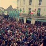 Incredible!Thank you to everyone for coming out.The celebrations continue at the Sportsground now #gogreen4connacht https://t.co/hbV5yys4dU