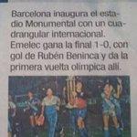 SE ROBÓ LA FIESTA Un 29 de mayo de 1988, #Emelec se proclamaba campeón del Torneo de Inauguración del Monumental https://t.co/clPiGX5rFo