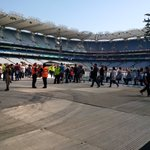 Doors are open for Dublin Night 2! #TheRiverTour https://t.co/610H2yr6DY