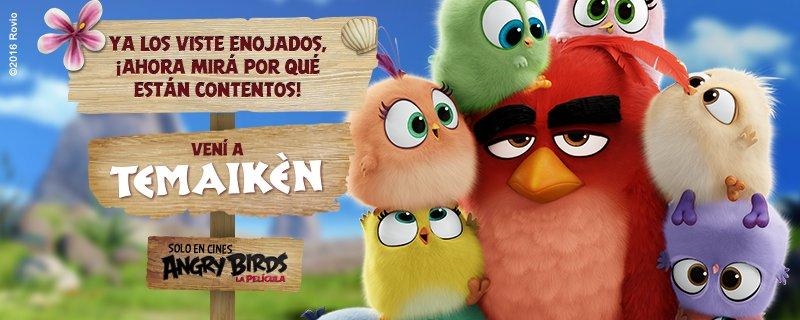 Si fueses un Angry Birds, después de pasar por Temaikèn, a dónde te gustaría volar?  https://t.co/M1XUiOMiVW https://t.co/VZUyMtNmwF