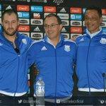 ¡Bienvenido profesor Alfredo Arias y cuerpo técnico, al Club Sport Emelec! https://t.co/GnRIALrFdb