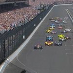 The 100th running of the Indianapolis 500 is underway! https://t.co/jobNC1C3Vn